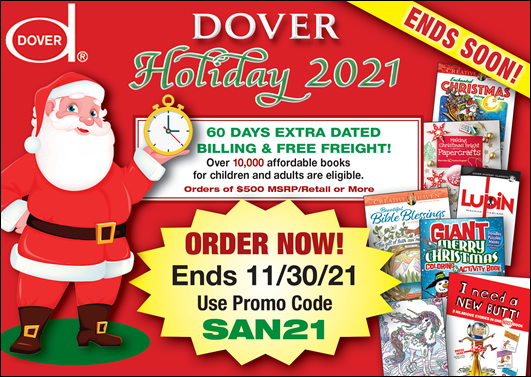 Dover Holiday 2021