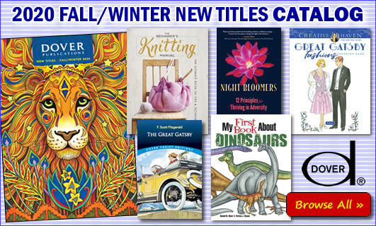 Dover Fall/Winter 2020 New Titles Catalog