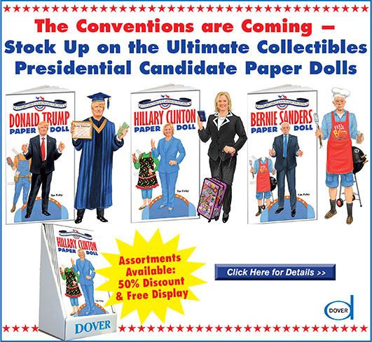 Presidential Candidate Paper Dolls
