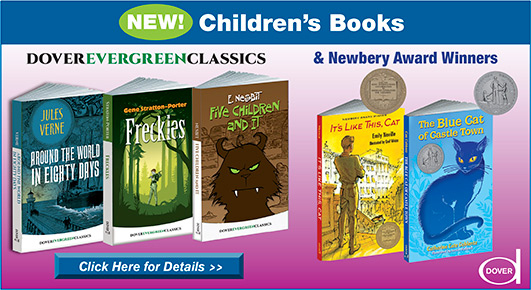 Dover's New Children's Books Spring 2017