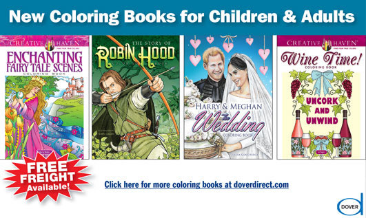New Coloring Books for Children & Adults