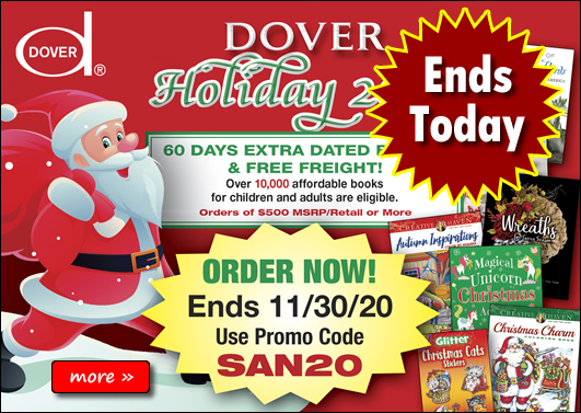 Dover Holiday 2020 Catalog