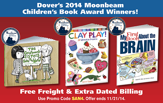Dover 2014 Moonbeam Children's Book Award Winners