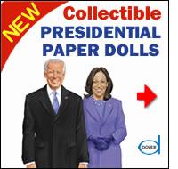 President Joseph R. Biden Jr. and Vice President Kamala Harris Paper Dolls