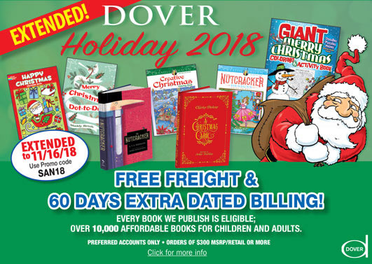 Dover Holiday 2018