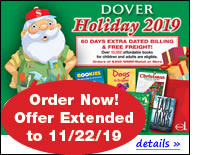 Dover Holiday 2019