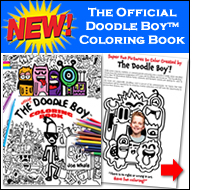 The Official Doodle Boy™ Coloring Book